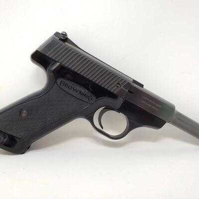 306 Browning Nomad Semi-Auto .22lr Pistol Serial Number: 23005P2 Barrel Length: 4.5