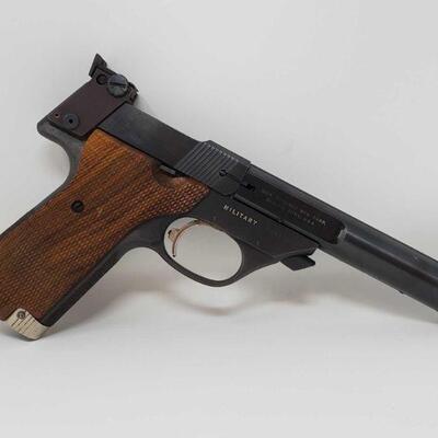 314 High Standard Supermatic Citation .22 LR Semi-Auto Pistol Serial Number- 2482429 Barrel Length- 5.5