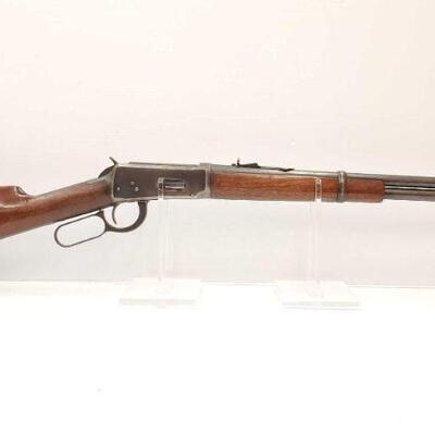 502 Winchester Model 94 32 WSF Lever Action Rifle Serial Number: 1414127X Barrel Length: 20.5