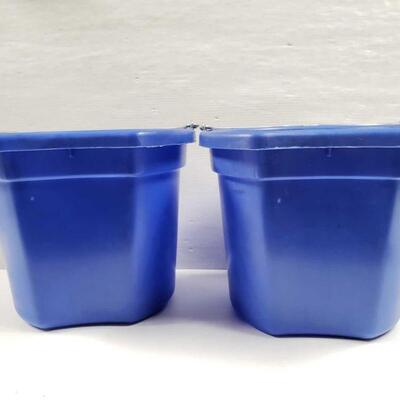 102 NEW Two (2) 20 Qrt. Flat back bucket, 11