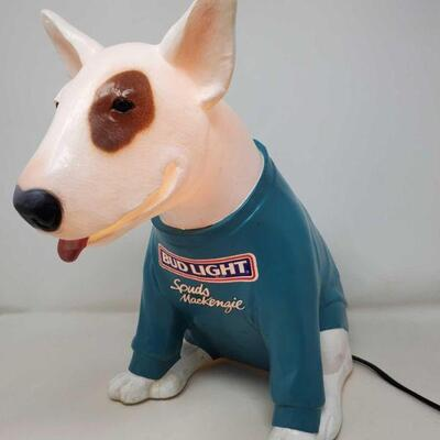 #2610 • Light Up Spuds MacKenzie thr Bud Light Dog