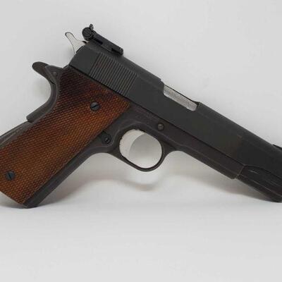 316 Essex 1911 .45 Semi-Auto Pistol Serial Number- 35209 Barrel Length- 5