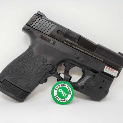 322 Smith & Wesson M&P 40 Shield 2.0 40S&W Semi-Automatic Pistol, No CA Transfer NO CA 6 Round and 7 Round Magazine Serial Number:...