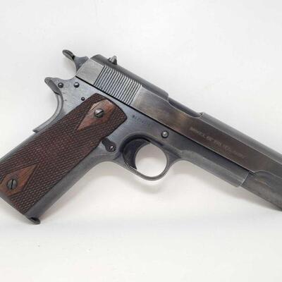 304 Colt 1911 US Army .45 ACP Semi-Auto Pistol Serial Number: 256036 Barrel Length: 5