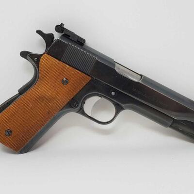 312 Colt 1911A1 U.S. Army .45 Semi-Auto Pistol Serial Number- 623896 Barrel Length- 5
