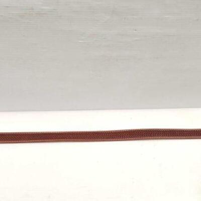 172: Showman ® Men's Agrentina Cow Leather Belt with Basketweave Tooling Size 36
