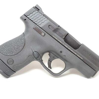 320 Smith&Wesson M&P 9 Shield 9mm Semi-Auto Pistol NO CA Serial Number: JHS2362 Barrel Length: 3