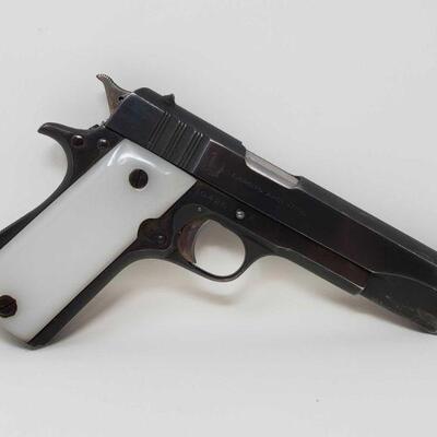 310 HAFDASA Ballester Rigaurd .45 Semi-Auto Pistol Serial Number: 10426 Barrel Length: 5