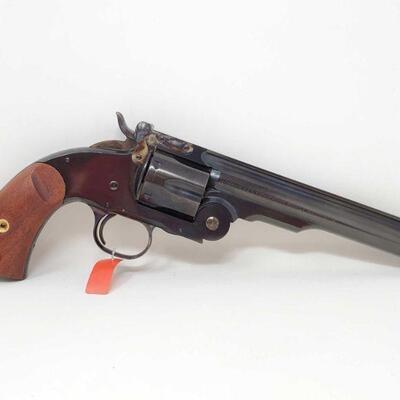 404 Cimarron No. 3 Schofield .45 Colt Revolver CA OK Serial Number: F20008 Barrel Length: 7