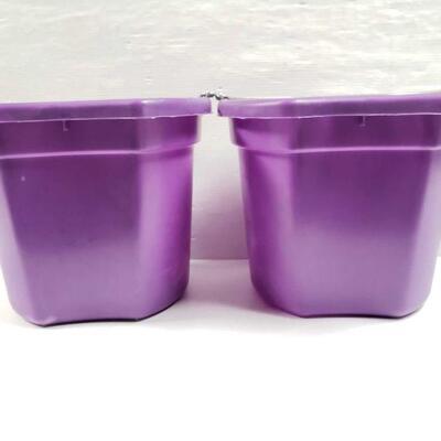 100 NEW Two (2) 20 Qrt. Flat back bucket, 11