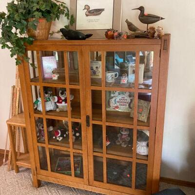 Mortised and tenoned Arts and Crafts Mission bookcase