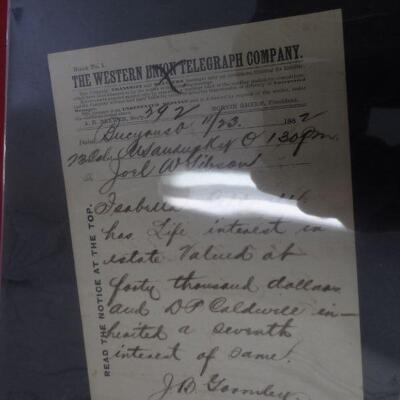 Vintage telegraph