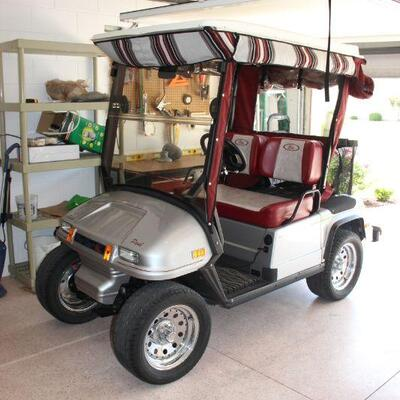 2007 Par Car electric w/ upgraded battery tender and watering system. $2,500.00