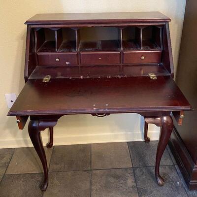 https://www.ebay.com/itm/124706985969TM9341 Antique Secretary Writing Table Desk3 Day Auction