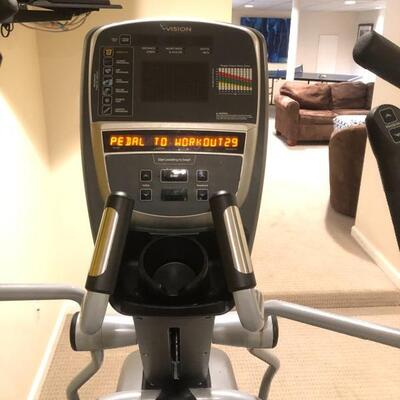 VISION FITNESS ELLIPTICAL S70 IN EXCELLENT CONDITION.  OVER $5,000 NEW