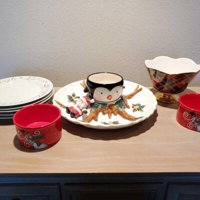 3058  Christmas Dishes Christmas Dishes