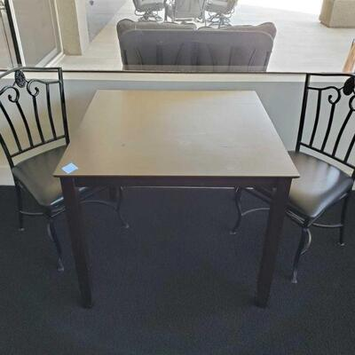 2400  Table And 2 Chairs Table Measures Approx 25.5