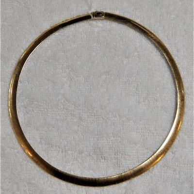 14k Choker Necklace