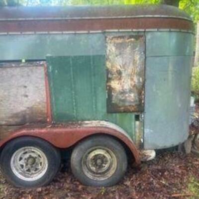 Two Stall Horse Trailer. It is currently included in our Fixed Price Sale for only $500. https://ctbids.com/#!/description/share/872260