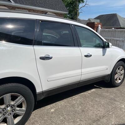 2010 Chevrolet Traverse  Silent bid  Reserve applied  Half of accepted bid Must be paid on day of sale. Silent bids taken in person only...