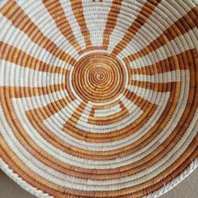 Woven Native American  bowls