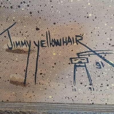 Jimmy Yellowhair artist detail