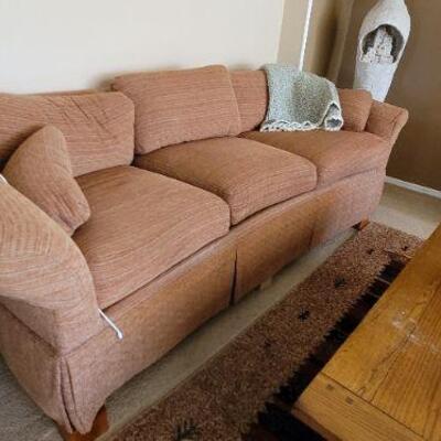 Long comfortable sofa