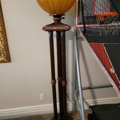 Tall decorative lamp