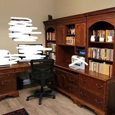 custom wood book shelf