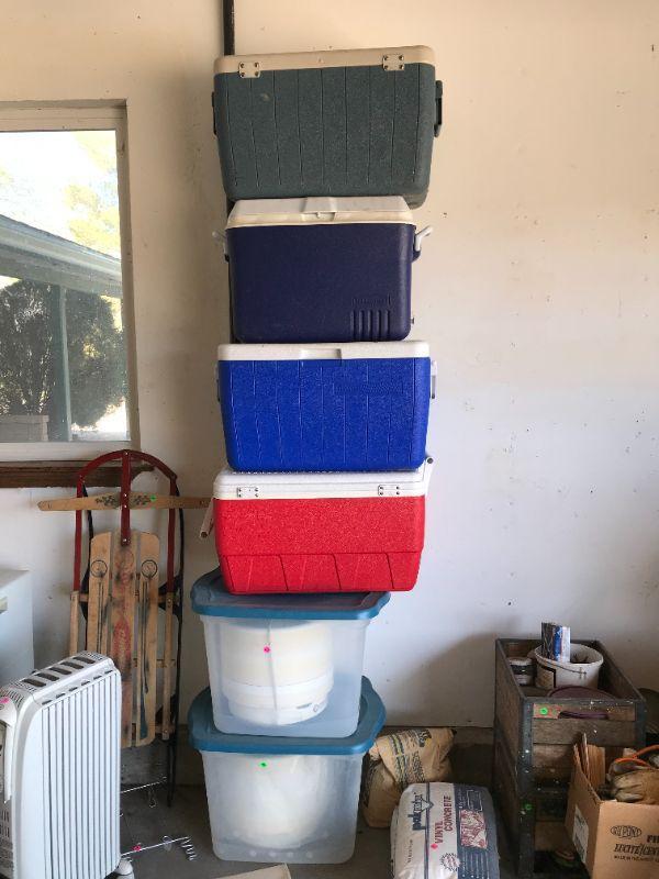 Coolers & de-hydrators