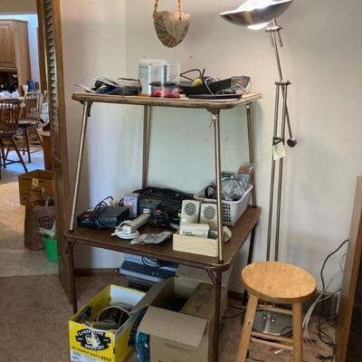 Neat floor lamp & stuff