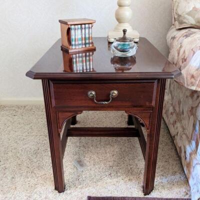 Kincaid end table