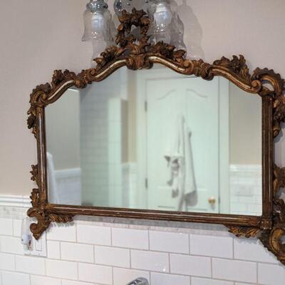 Vintage Giltwood Decorative Mirror