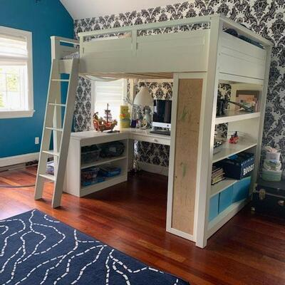 Pottery Barn Loft Bed **Available pick up June 19th - 22nd**