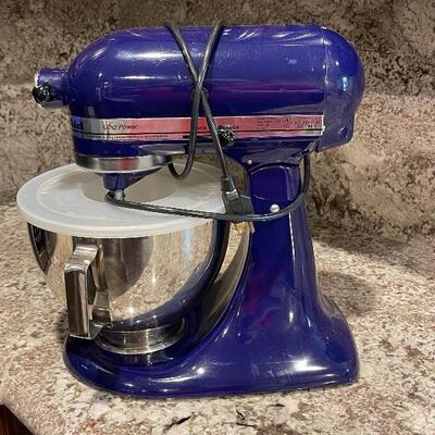 blue kitchenaid