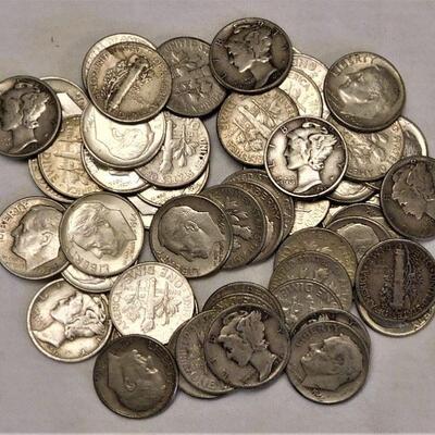 94 Mercury & Roosevelt Dimes