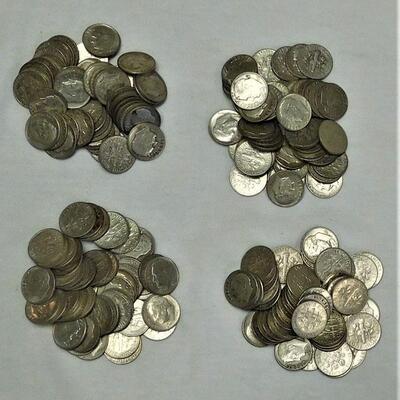 200 Roosevelt Silver Dimes