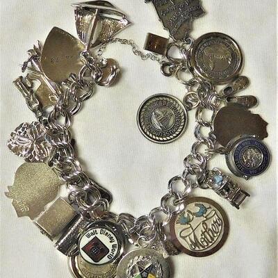 Sterling Charm Bracelet