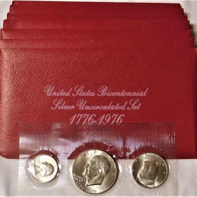 7 - 1976 Silver Uncirculated Sets