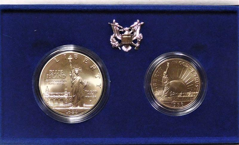 1986 Liberty Coins - Dollar is Silver