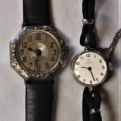 Both Watches Run - One is an Omega