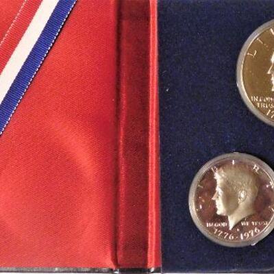 Bicentennial Silver Proof Set