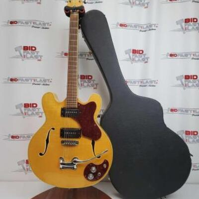 2030  Mosrite Celebrity Acoustic Guitar With Hard Case Marked A0826
