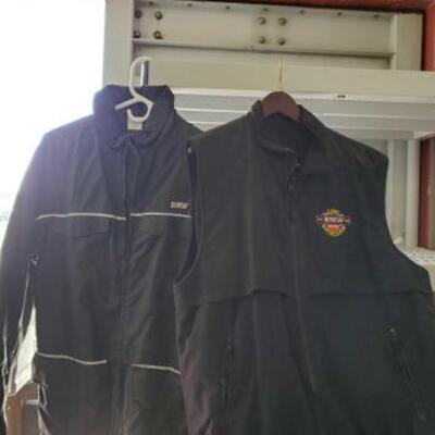 #4048 • BMW Fleece Vest, BMW Jacket