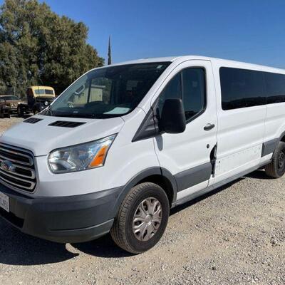 368  2015 Ford Transit Wagon Year: 2015 Make: Ford Model: Transit Wagon Vehicle Type: Van Mileage: 124937 Plate: Body Type: 4 Door Van;...