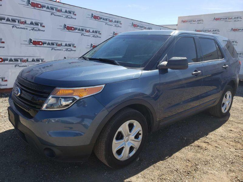 245  2015 Ford Explorer CURRENT SMOG Year: 2015 Make: Ford Model: Explorer Vehicle Type: Multipurpose Vehicle (MPV) Mileage: 126,785 Plate:  none Body Type: 4 Door Wagon Trim Level: Police Drive Line: 4WD Engine Type: V6, 3.7L; FFV Fuel Type: Gasoline/E85 Horsepower: Transmission: VIN #: 1FM5K8AR0FGC27051 Doc Fee:  $70 Smog:  $60 DMV Registration Fee:  6% of sale price  Features and Notes: California title on hand,  Car No. 2471