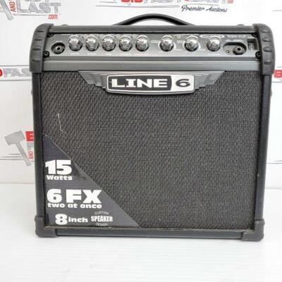 2070  Line 6 Spider 3 15 Watt Guitar Amplifier Line 6 Spider 3 15 Watt Guitar Amplifier