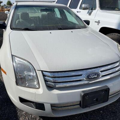 140  2008 Ford Fusion Year: 2008 Make: Ford Model: Fusion Vehicle Type: Passenger Car Mileage: Plate:  NONE Body Type: 4 Door Sedan Trim...