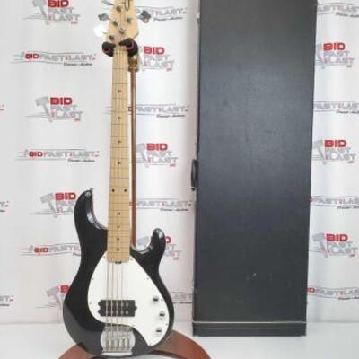 2032  Ernie Ball Bass With Hard Case Stand Not Included