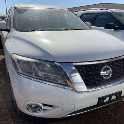 275  2014 Nissan Pathfinder Year: 2014 Make: Nissan Model: Pathfinder Vehicle Type: Multipurpose Vehicle (MPV) Mileage: Plate:  none...
